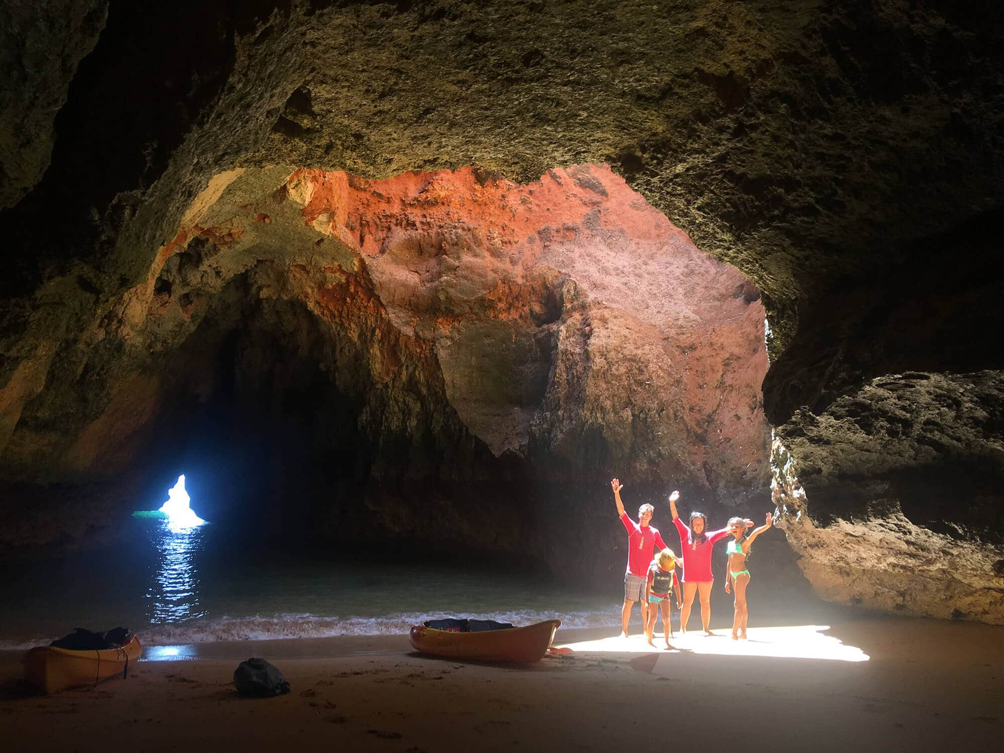 SUP | Kayak Lagoa Cave & Cliffs Tour