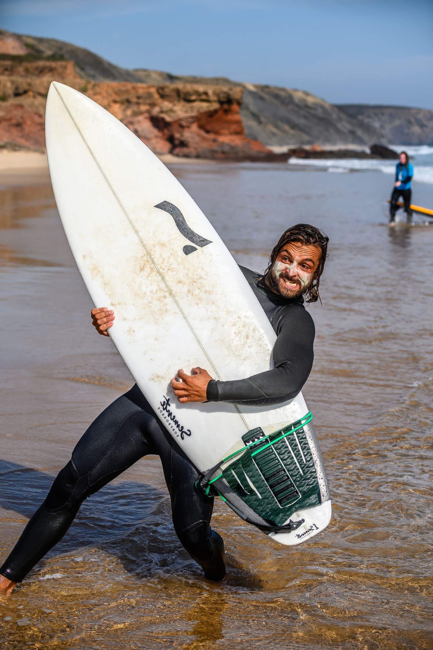 Surfboard   Wetsuit