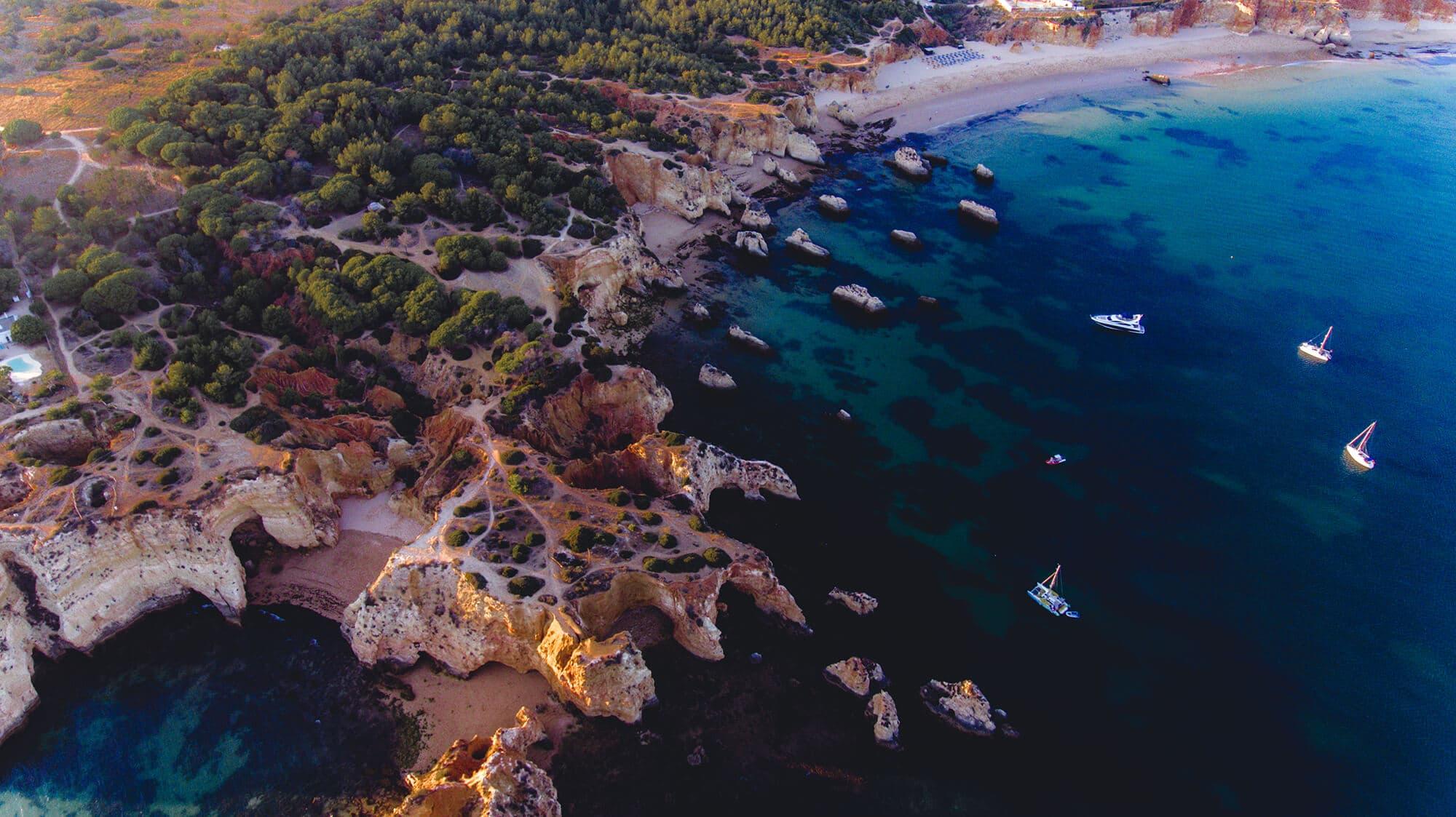 SUP | Kayak Portimão Cave & Cliffs Tour