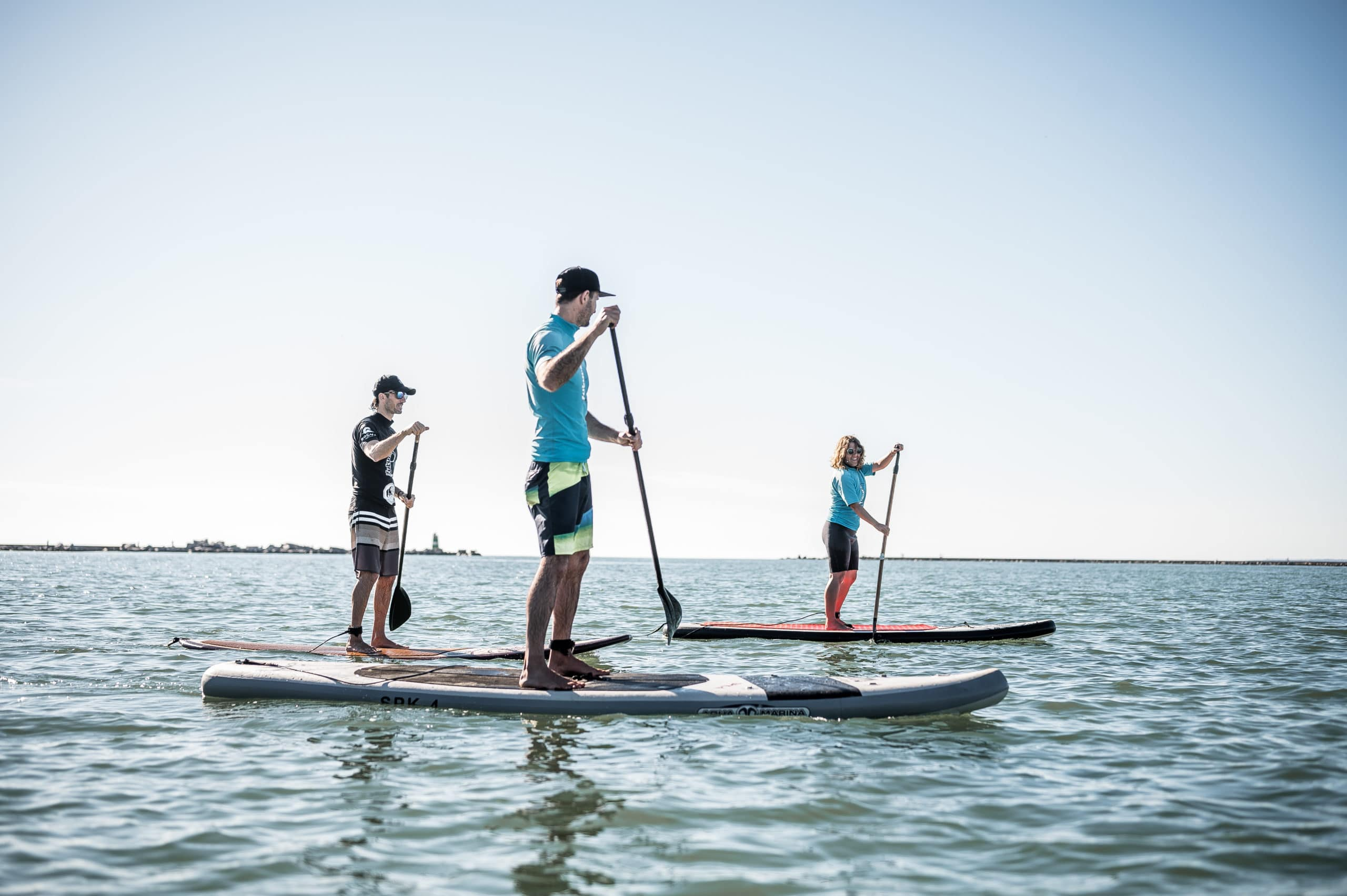 Beginner's group SUP lesson
